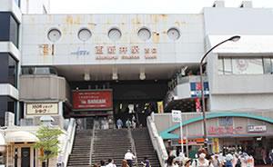 西新井駅前すぐのアクセス